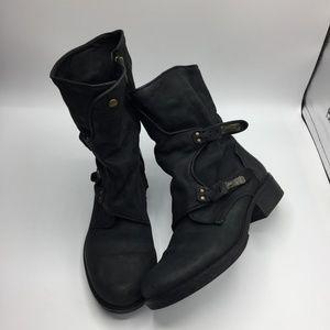 Sam Edelman Ridge Leather Moto Boots